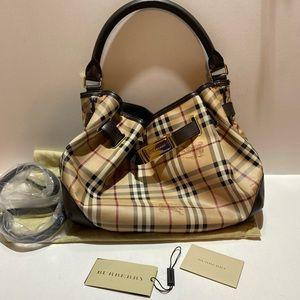 Burberry Haymarket Check Hobo handbag *Price Firm*